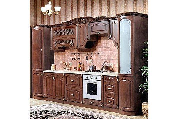 Кухня Юг-мебель Мадлен прямая 3,60
