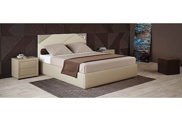 Кровать Moon Trade Альба Модель 1206, 180х200