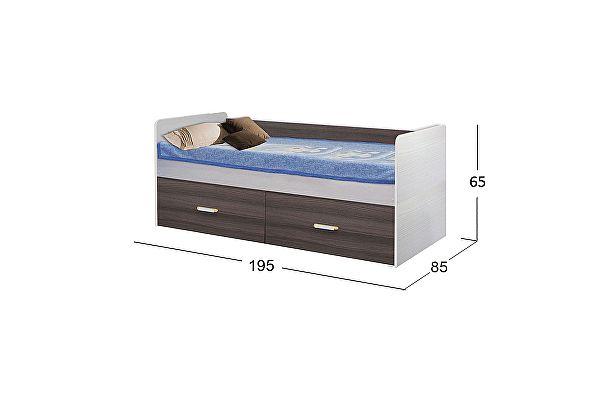Кровать Moon Trade Скейт-5 Модель 516