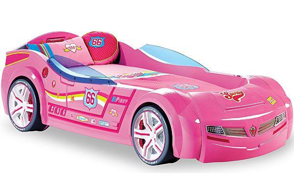 Кровать машина Cilek Biturbo розовая (20.02.1337.00)