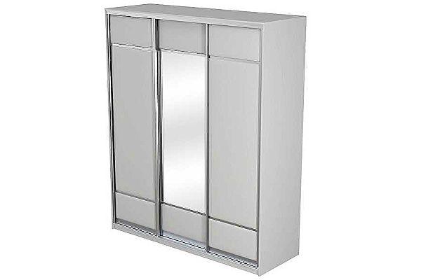 Шкаф-купе 3х дверный Como/Veda ЛДСП зеркало