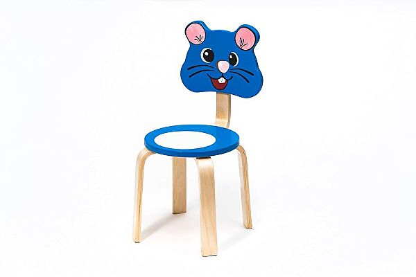 Детский стульчик Polli Tolli Мордочка Мышка
