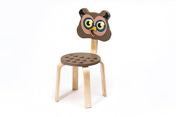 Детский стульчик Polli Tolli Мордочка Совушка