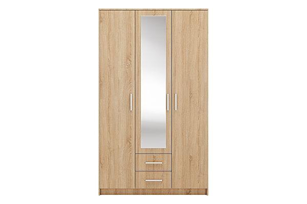 Шкаф распашной Ливеко Айова 3.2 с зеркалом
