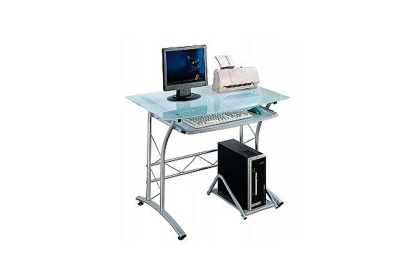 Стеклянный компьютерный стол Tetchair ST-F1018