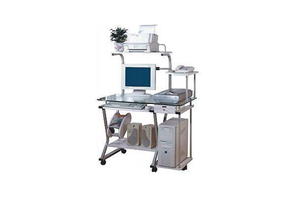 Стеклянный компьютерный стол Tetchair ST - S240