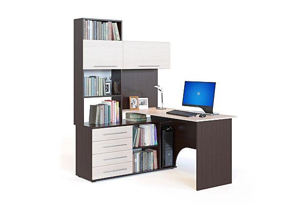 Угловой компьютерный стол Сокол КСТ-14