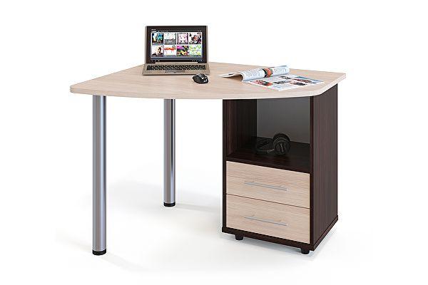 Угловой компьютерный стол Сокол КСТ-102