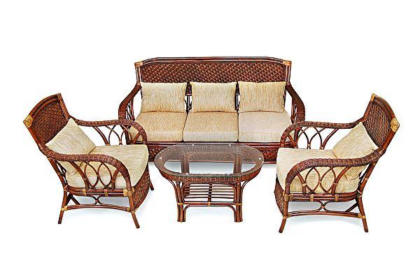 Комплект плетеной мебели Tetchair ANDREA с диваном