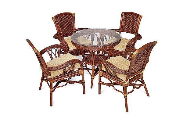 Комплект плетеной мебели Tetchair ANDREA
