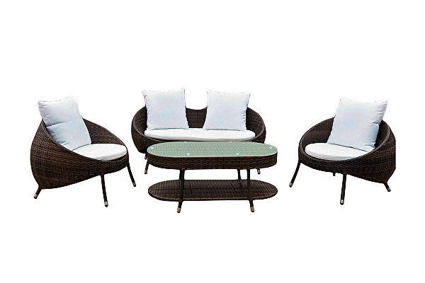 Комплект плетеной мебели Kvimol KM-0042