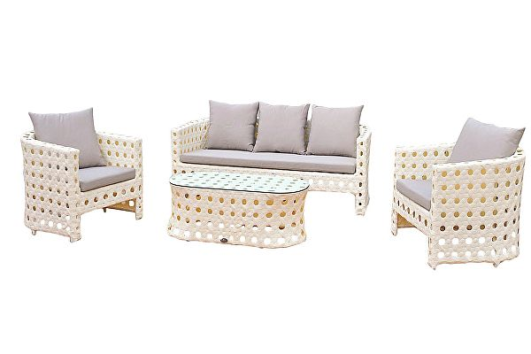 Комплект плетеной мебели Kvimol KM0008