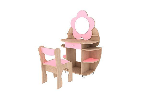 Столик и стульчик Мебельсон Набор Ромашка