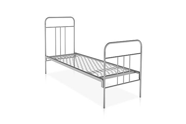 Металлическая кровать Метмебель КМ6 тип А