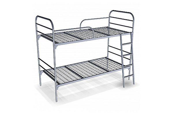 Металлическая кровать Метмебель Близнецы КМ 11