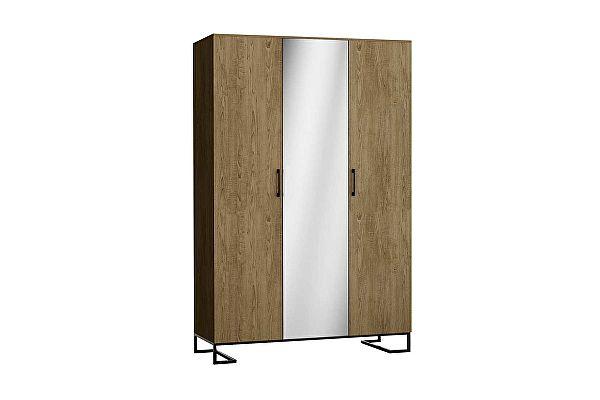 Шкаф для белья 3-створчатый с зеркалом R-Home Loft