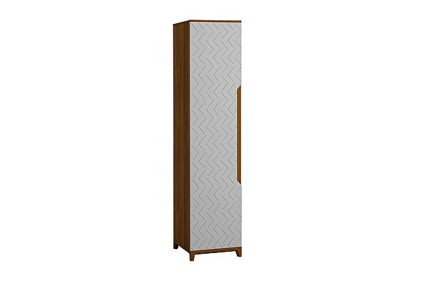 Шкаф для белья 1-створчатый универсальный R-Home Сканди