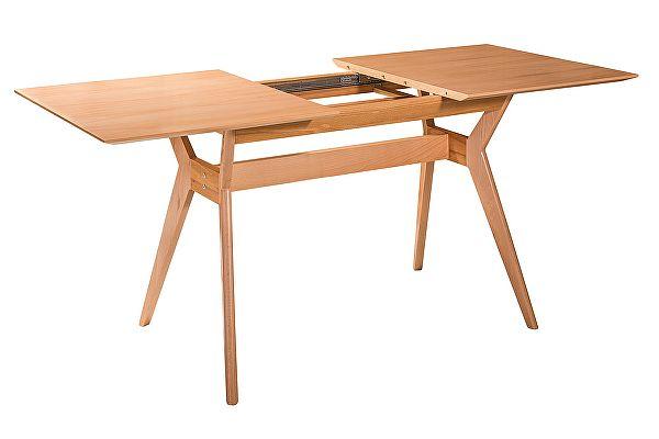 Стол раскладной R-Home Нарвик натуральный бук, 140 см