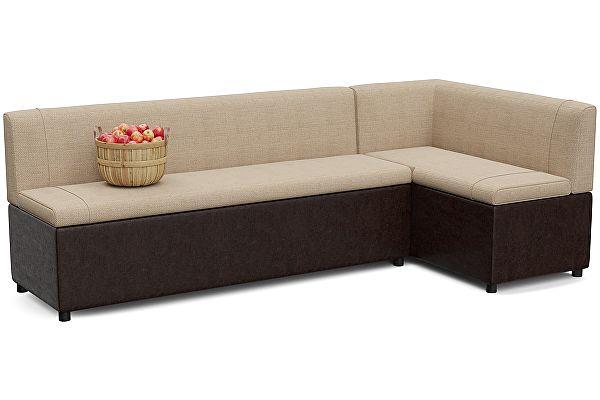 Кухонный диван с ящиками угловой Смарт Уют с ящиком для хранения