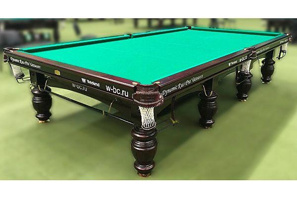Бильярдный стол для русского бильярда Dynamic Billard Dynamic Refinement 12 футов (махагон)