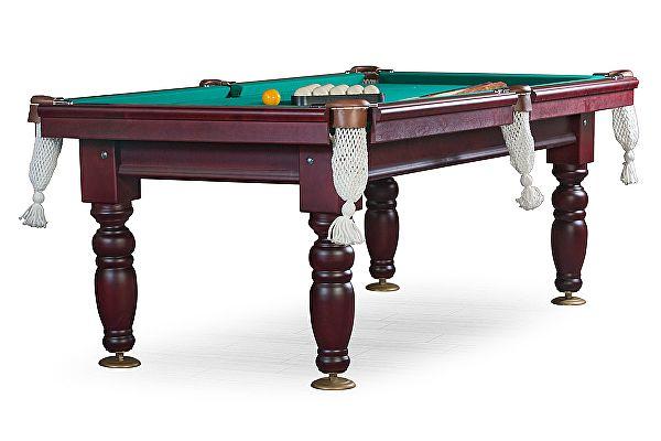 Бильярдный стол для русского бильярда Weekend Billiard Company Дебют 8 футов (махагон) ЛДСП