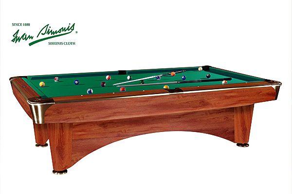 Бильярдный стол для пула Dynamic Billiard Organization Dynamic III 8 футов (коричневый)