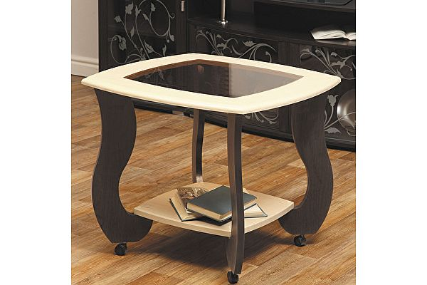 Квадратный журнальный столик Олимп-Мебель Сатурн-М01