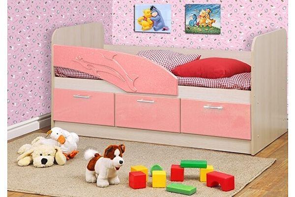 Детская кровать Олимп-Мебель Дельфин МДФ 1,6 м