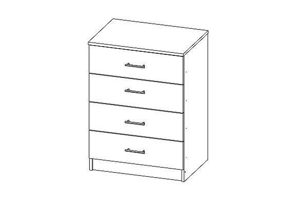 Комод Олимп-Мебель Лего-1 (608х454х820 мм)