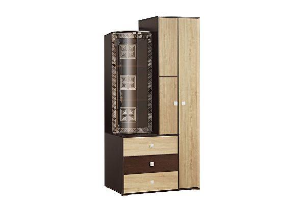Шкаф Олимп-Мебель Венера 21.71 комбинированный