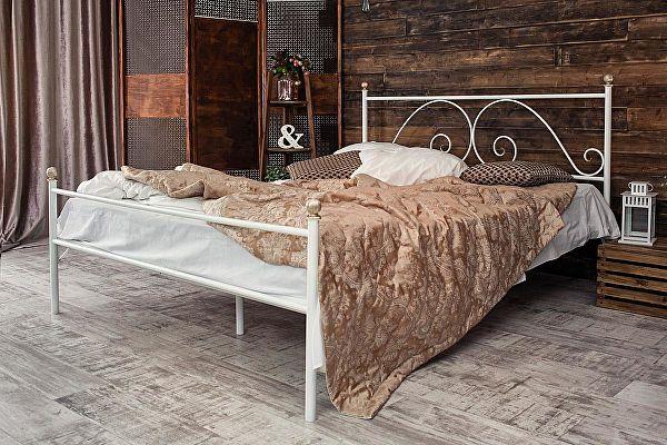 Кованая кровать Francesco Rossi Анталия 1.8 с одной спинкой