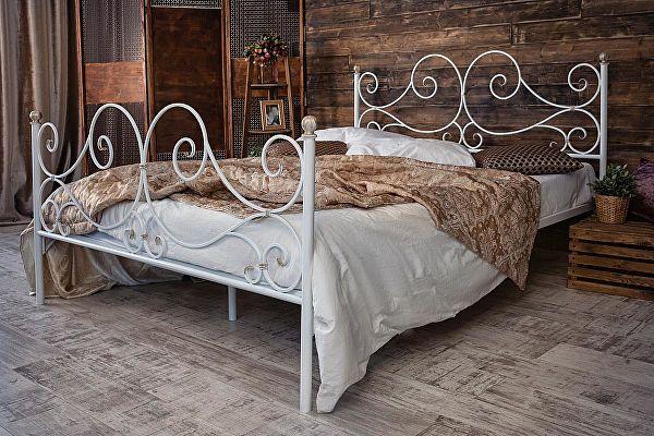 Кованая кровать Francesco Rossi Верона 1.4 с двумя спинками