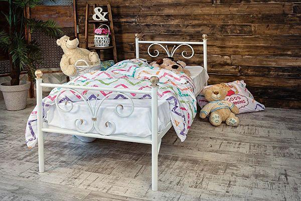 Детская металлическая кровать Francesco Rossi Бабочка