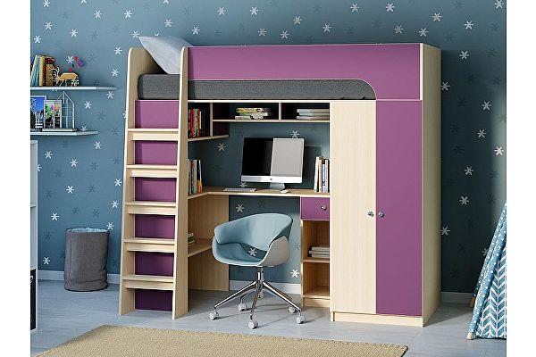 Кровать-чердак РВ Мебель Астра-10