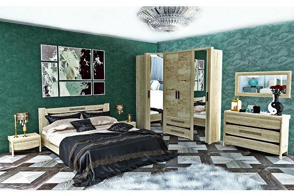 Спальня СБК Мале (Комплект 1)