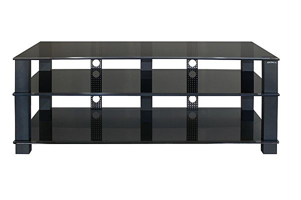 Стеклянная ТВ-тумба Antall Almeon-1500 на шипах (акустическая развязка)