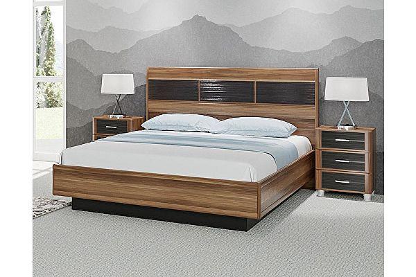 Полутороспальная кровать Лером Камелия КР-1701 (120) с ПМ