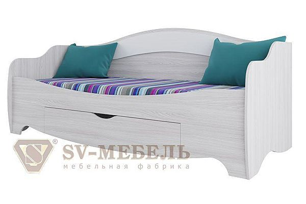 Кровать SV-мебель Акварель (с ящиком)