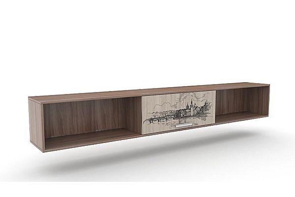 Полка навесная SV-мебель Город