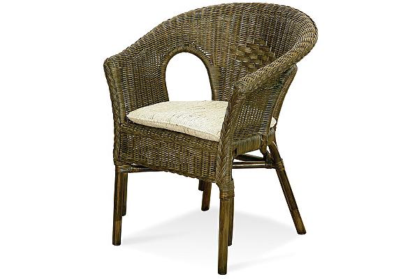 Кресло Натур-мебель 02/08 (с подушкой)