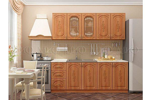 Кухня Миф Лиза-2 МДФ матовая 1800