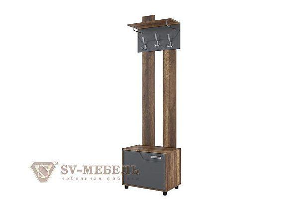 Вешалка с обувницей SV-мебель Визит-1 (МДФ)