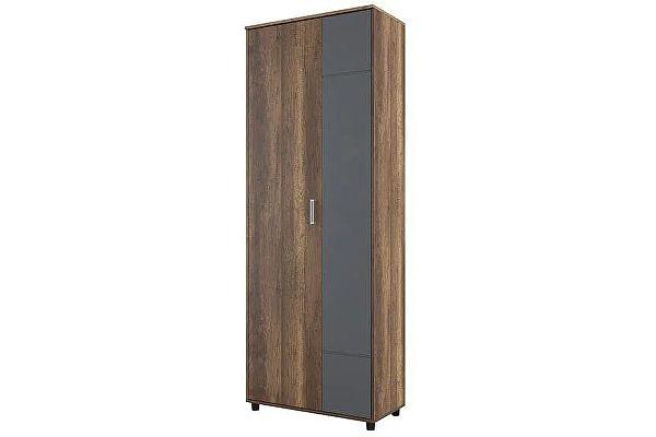 Шкаф двухстворчатый SV-мебель Визит-1 (МДФ) (комбинированный)