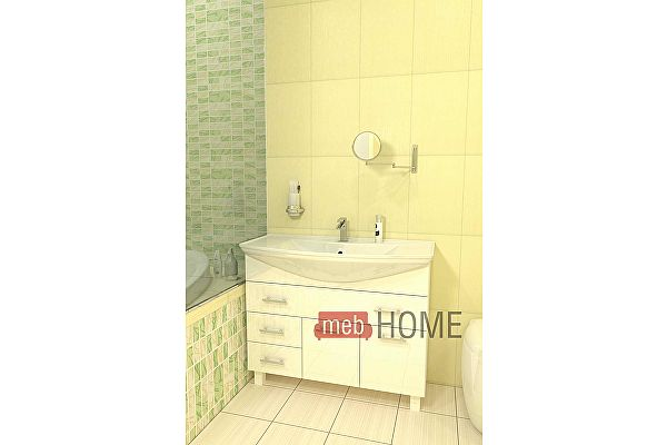 Тумба с раковиной для ванной Мебелеф - С3