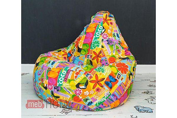 Кресло-мешок груша Dreambag Груша XL, жаккард 5 кат