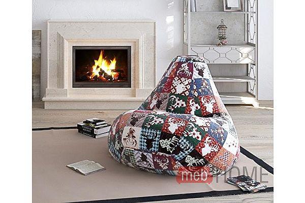 Кресло Dreambag Груша XL, велюр 5 кат