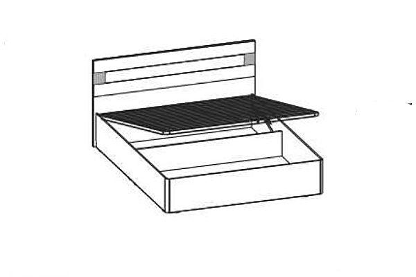 Кровать Santan Леонардо КРП-207 (160)