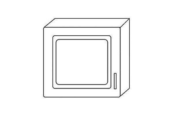 Антресоль Мебель Холдинг Ждана (мод.31) 450 1дверная навесная