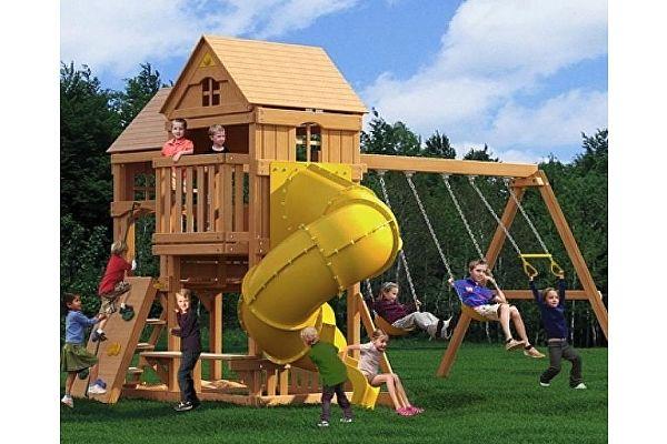 Детский игровой комплекс Можга Красная звезда Панорама (Р955-2)