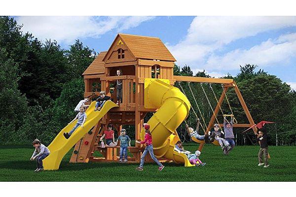 Детский игровой комплекс Можга Красная звезда Панорама (Р955-3)